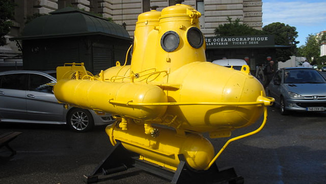 Cousteau's Saucer
