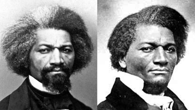 Frederick Douglas: With His Mustache And With Just A Goatee