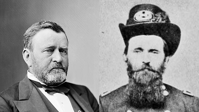 Ulysses S. Grant: With A Beard And A Really Long Beard