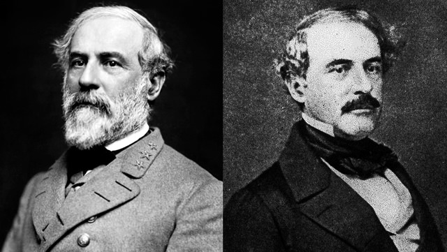 Robert E. Lee: With A Beard And With Just A Mustache