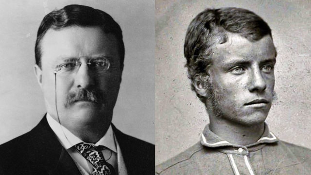 Teddy Roosevelt: With A Mustache And With Just Muttonchops