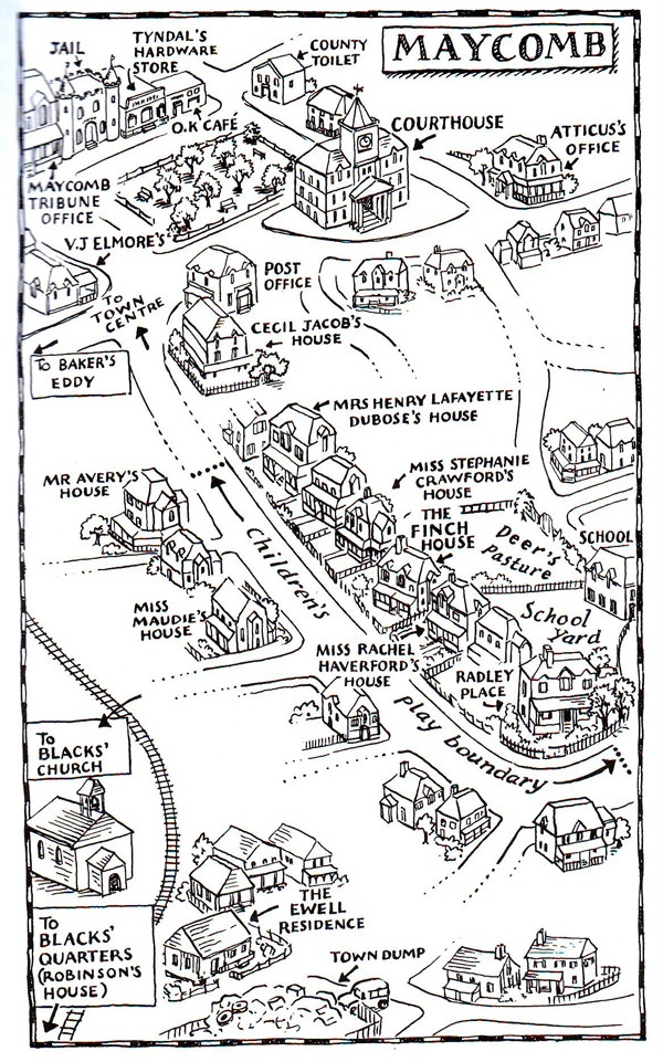 9 fantastic maps of literary fiction that look like