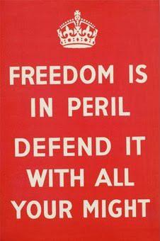 Freedom Is In Peril Defend It With All Your Might
