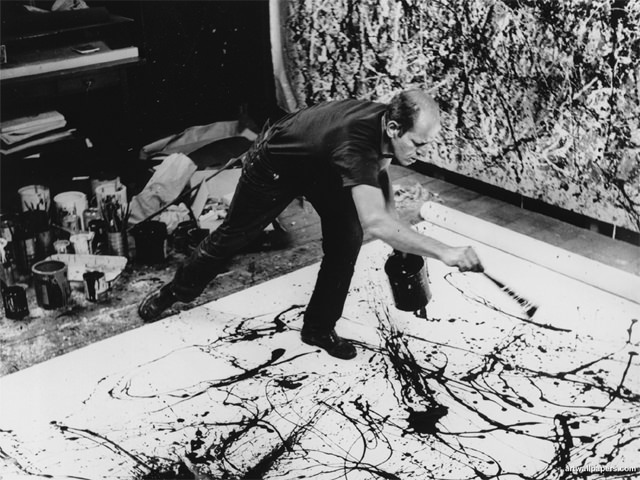 Pollock Drip Painting