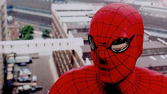 Spiderman 3 in movie theater