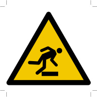 Warning; Floor-level obstacle