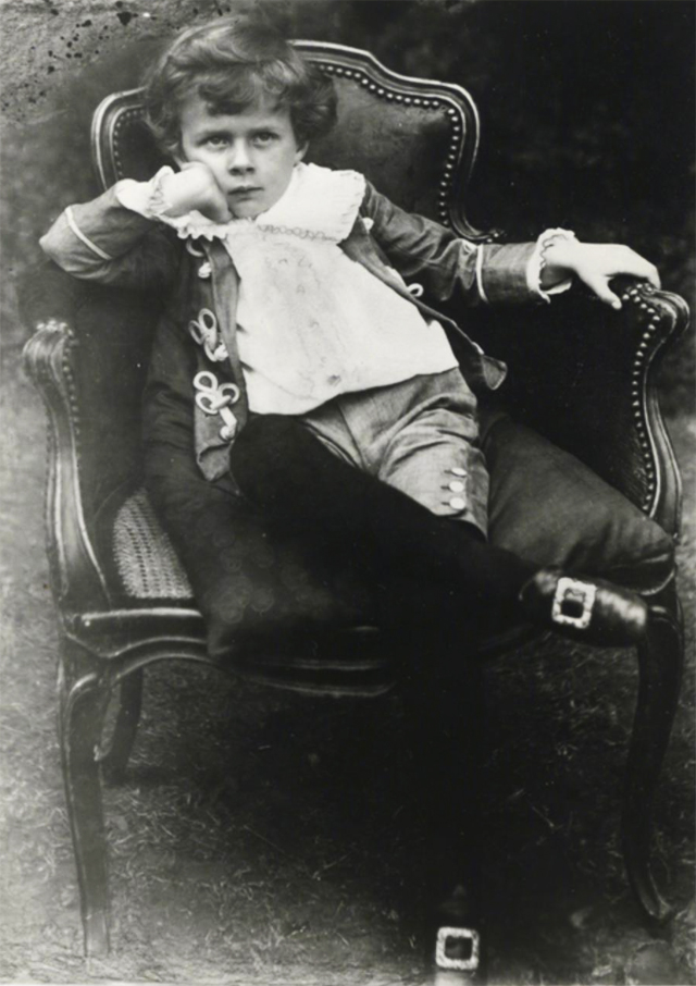 Aldous Huxley As A Child