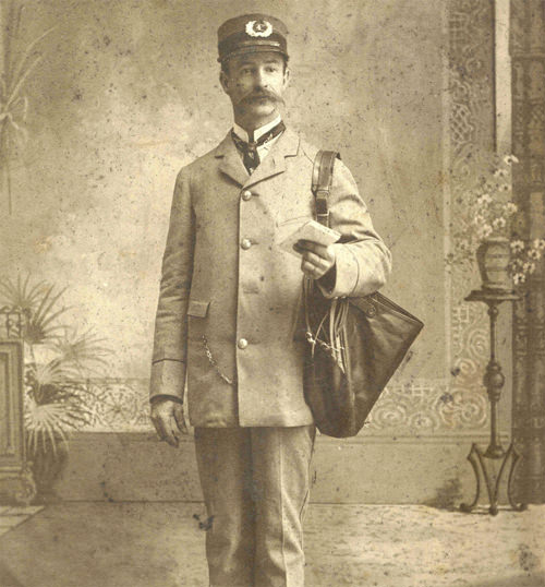 1880s letter carrier