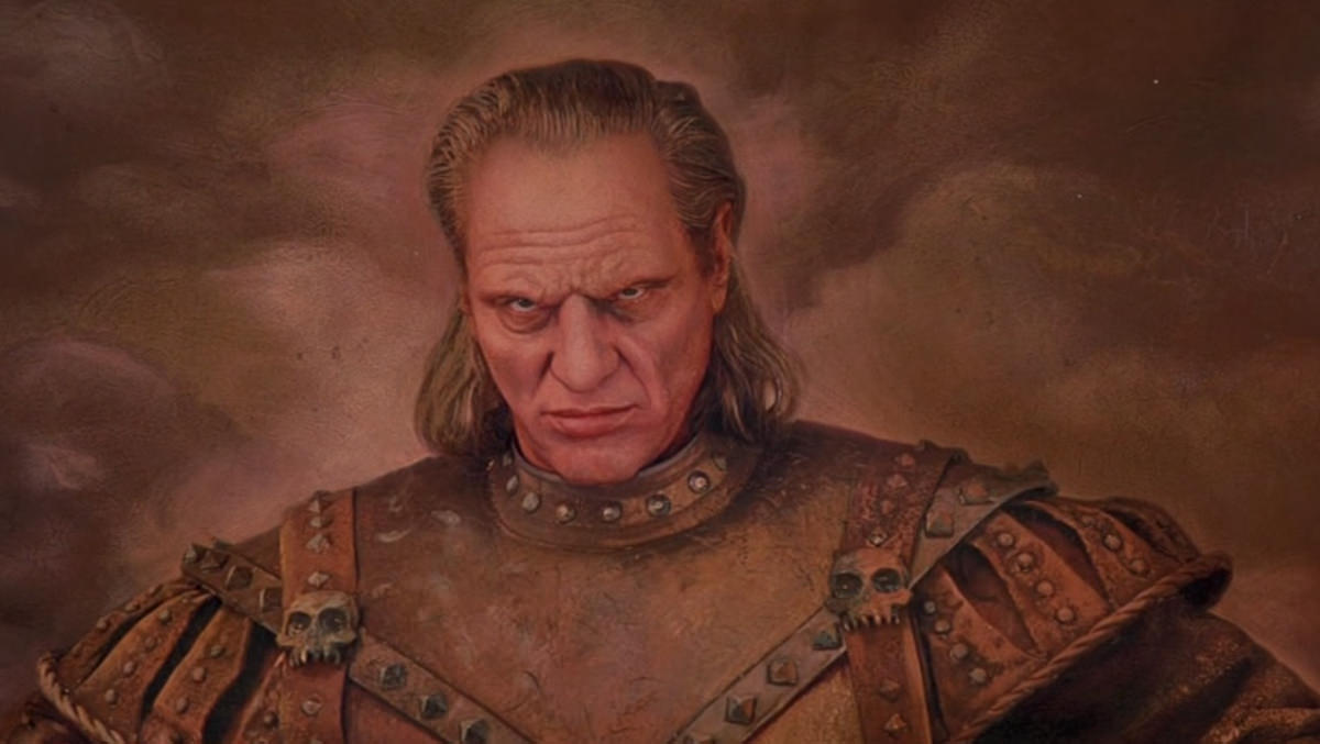 Vigo the Carpathian painting from Ghostbusters II