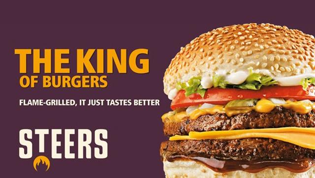 Steers Burger Ad