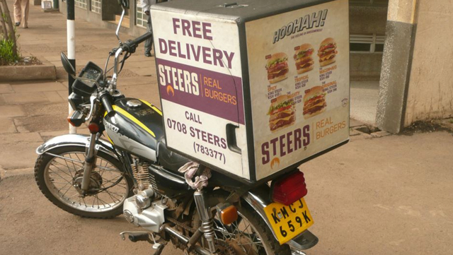 Steers Motorcycle Delivery