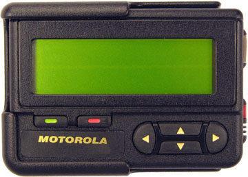 Motorola's Pager