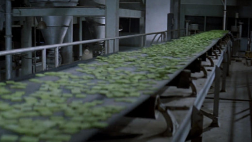 Soylent Green conveyer belt