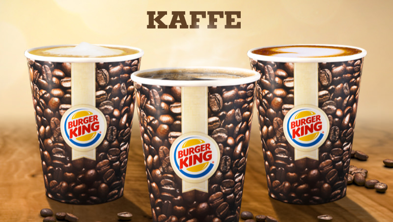 Burger King Sweden Coffee