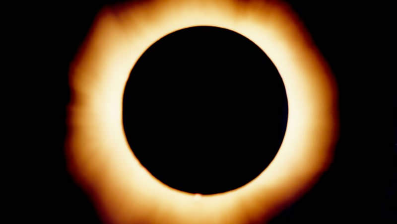 Photograph of an Eclipse