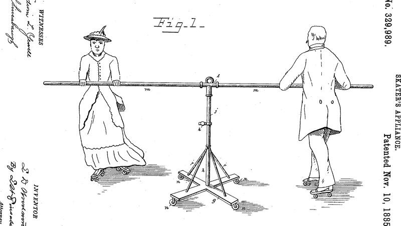 Skater's Appliance Patent