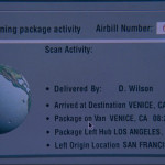 Fed Ex tracking circa 1995 (in the movie) in The Net