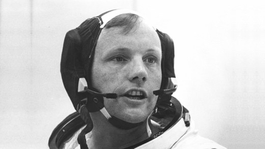 A young Neil Armstrong