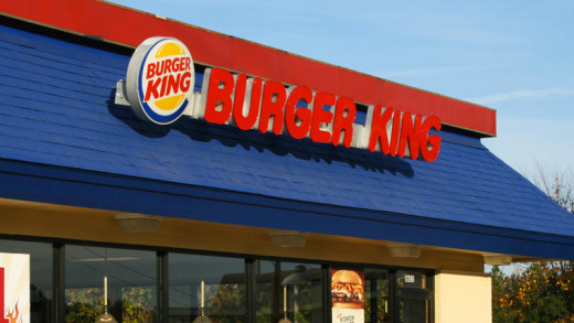 A Burger King Store