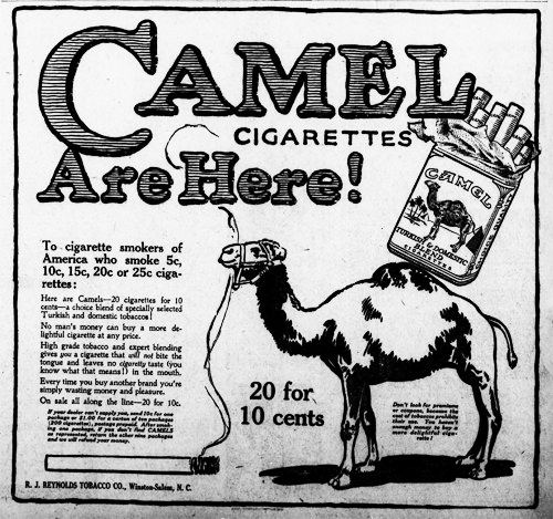 Camel Cigarettes Are Here!