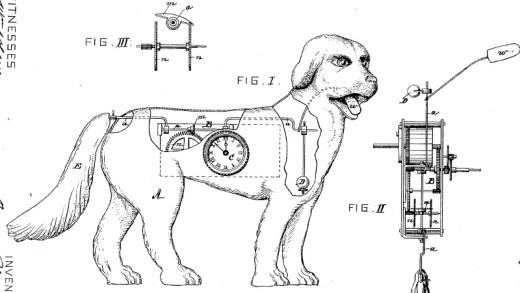A Dog Clock