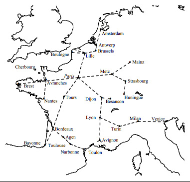 The French Telegraph Network