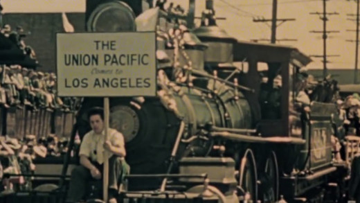Opening of LA's Union Station