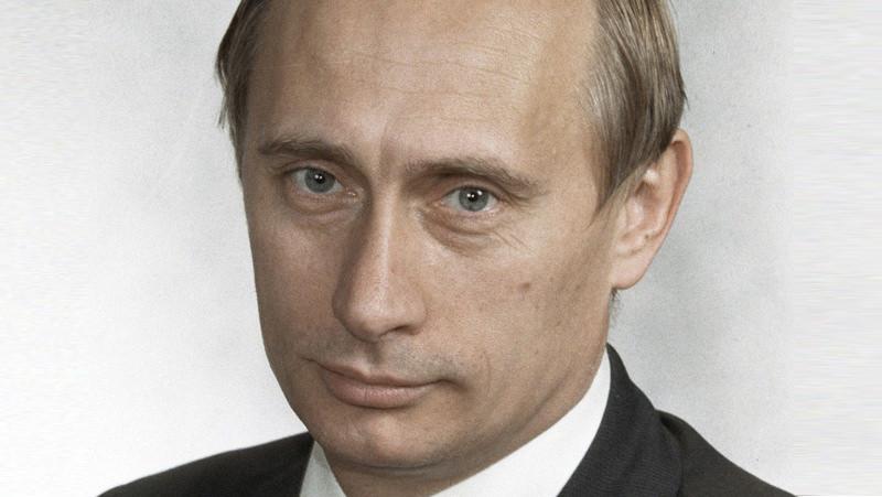 A younger Vladimir Putin