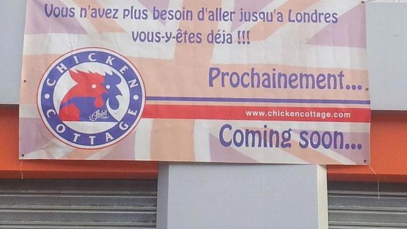 Chicken Cottage in French