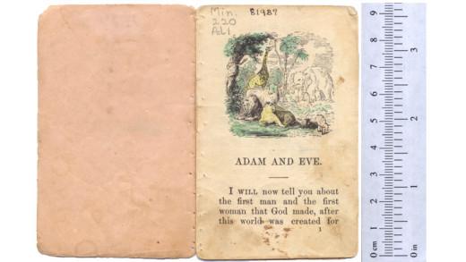 A miniature book
