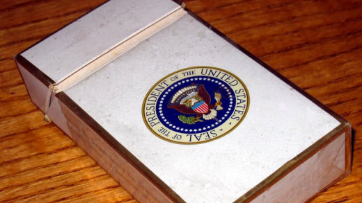Cigarettes on Air Force One