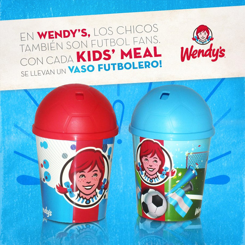 Wendy's football fans