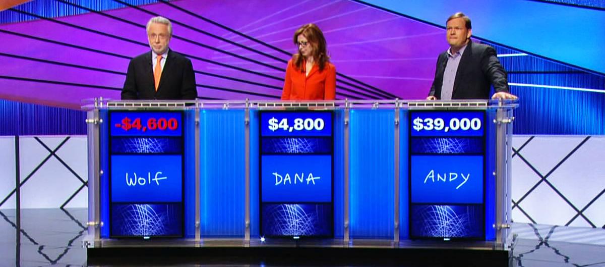 Wolf Blitzer on Jeopardy!