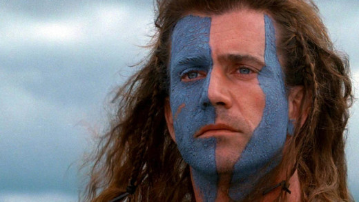Braveheart Face Paint