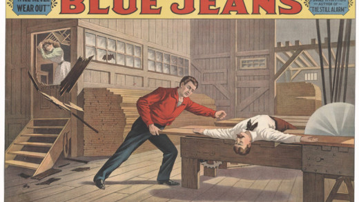 Buzzsaw scene in Blue Jeans