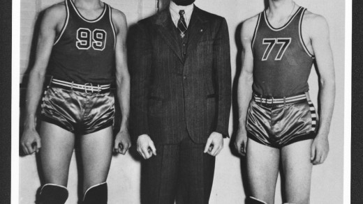 Bob Dole in Basketball Shorts
