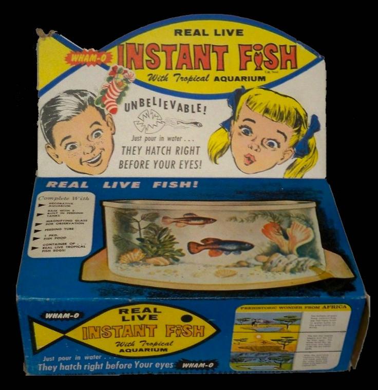 Original Instant Fish Packaging