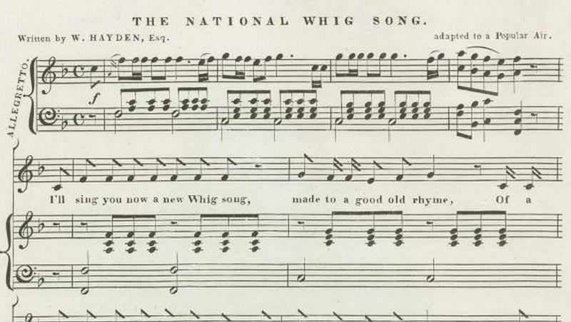 National Whig Song