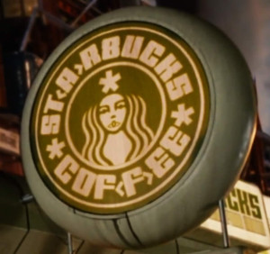 Starbucks Logo in Idiocracy