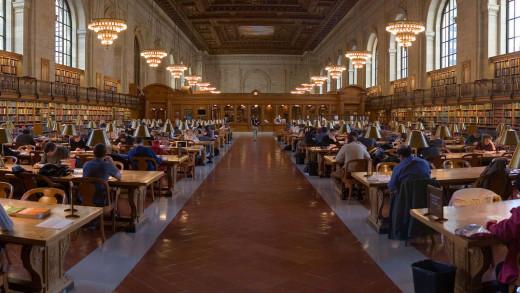 NYPL Reading Room